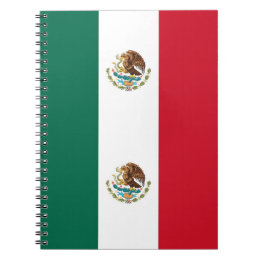 Notebook with Flag of Mexico