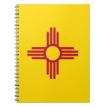 Notebook with Flag of New Mexico State
