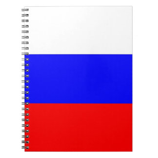 Notebook with Flag of Russia