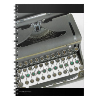 "Notebook with ""IMAGINATION"" Typewriter"