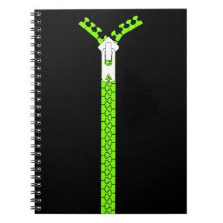 Notebook Zipper Close Secrets Diary Journal Gift