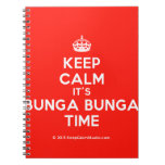 [Crown] keep calm it's bunga bunga time  Notebooks