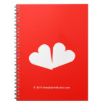 [Two hearts]  Notebooks