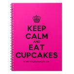 [Cupcake] keep calm and eat cupcakes  Notebooks