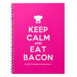 [Chef hat] keep calm and eat bacon  Notebooks