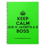 [Crown] keep calm que o jacinto é o boss  Notebooks