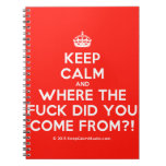 [Crown] keep calm and where the fuck did you come from?!  Notebooks