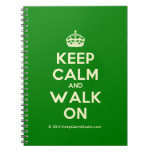 [Crown] keep calm and walk on  Notebooks