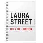 Laura Street  Notebooks