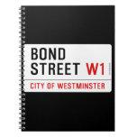 Bond Street  Notebooks