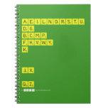 AEILNORSTU DG BCMP FHVWY K   JX  QZ  Notebooks