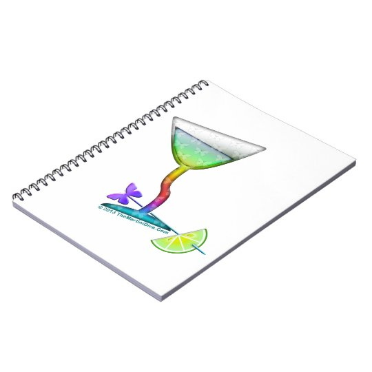 NOTEBOOKS - BUTTERFLY MARTINI