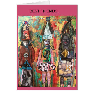 NOTECARD-  BEST FRIENDS... STATIONERY NOTE CARD
