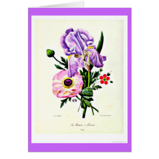 Notecard-Botanicals-Pierre Joseph Redoute 19 Stationery Note Card