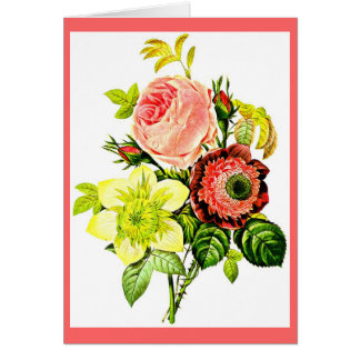 Notecard-Botanicals-Pierre Joseph Redoute 5 Stationery Note Card