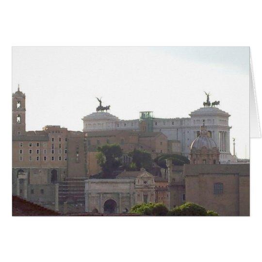 Notecard - Capital Hill, Rome