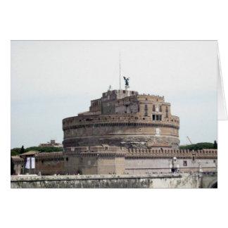 Notecard - Castel Sant'Angelo, Roma Tarjeta Pequeña