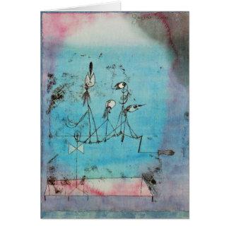 Notecard-Clásico/Vintage-Paul Klee 11 Tarjeta Pequeña