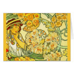 Notecard-Classic/Vintage-Mucha 21 Greeting Cards