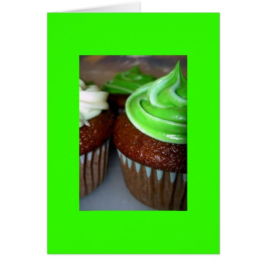 Notecard-Color 3 Terapia-Verdes Tarjeta Pequeña