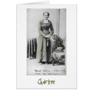 Notecard de Harriet Tubman Felicitación