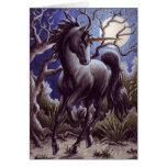 Notecard de la luna del unicornio