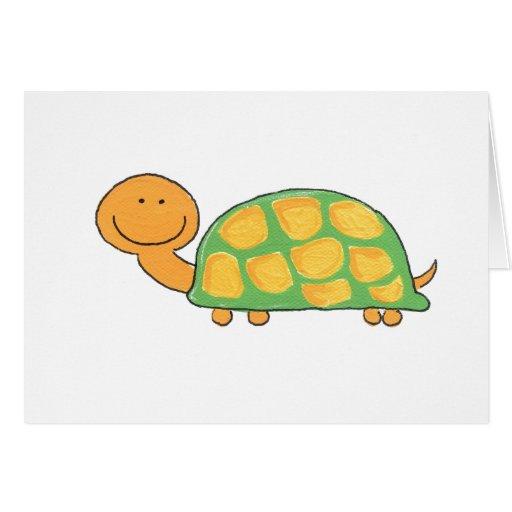 Notecard de la tortuga felicitaciones