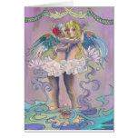 Notecard de los ángeles tarjeton