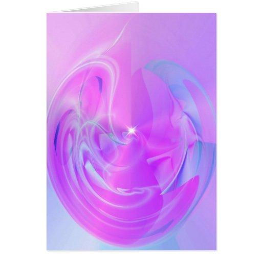 notecard del abstractwhisp tarjeta pequeña