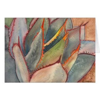 Notecard del agavo de Shaw Tarjetas