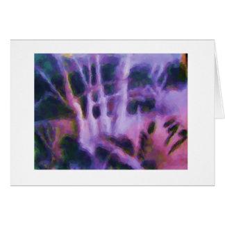 notecard fantasmagórico tarjeta pequeña