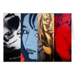 Notecard - Female Portraits Greeting Cards