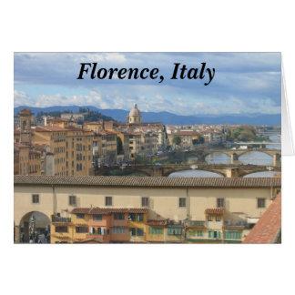 Notecard Florencia Italia Felicitacion