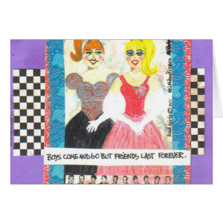 NOTECARD-FRIENDS LAST FOREVER CARD