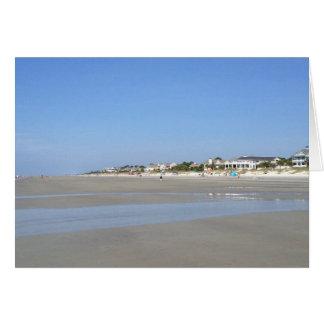 Notecard:  Hilton Head Island Images (beach vista) Card