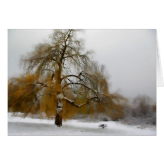 Notecard hivernal del día