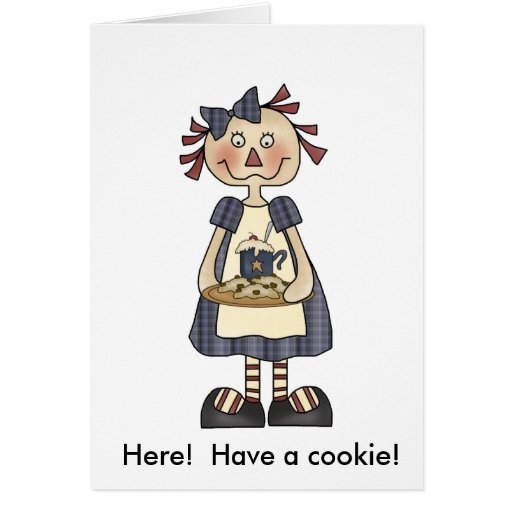 Notecard invitation...Cookie Exchange Stationery Note Card