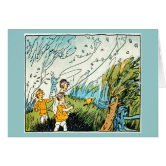 Notecard-Just for Kids-Ruth Mary Hallock 3 Stationery Note Card
