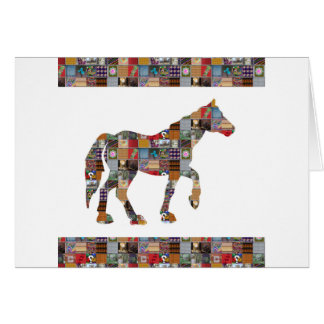 NoteCARD LargeCARD PostCARD Greetings NVN479 HORSE