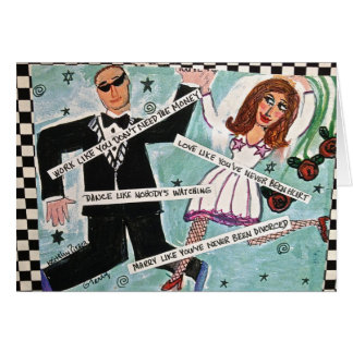 notecard-LOVE LIKE YOU'VE NEVER BEEN HURT Stationery Note Card