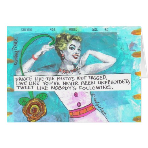 NOTECARD -LOVE LIKE YOU'VE NEVER BEEN UNFRIENDED CARDS
