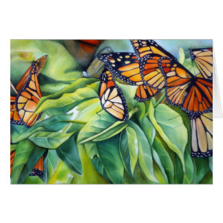 Notecard, Migration of the Monarch Butterfly Stationery Note Card