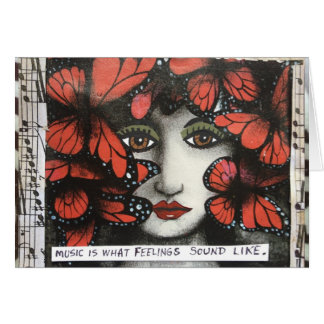 NOTECARD-MUSIC IS WHAT FEELINGS SOUND LIKE. CARD