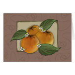 notecard - my favorite oranges crate label cards