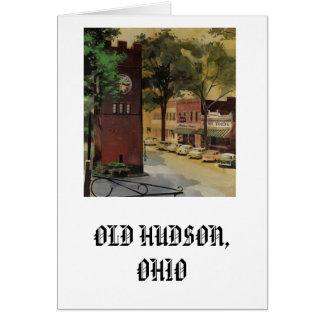 Notecard, Old Hudson Card