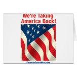 Notecard - Patriotic - Take America Back Greeting Card