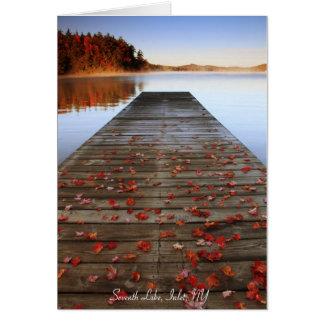 Notecard - Seventh Lake, Inlet, NY