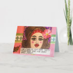 Notecard-she finally got herself together and her card