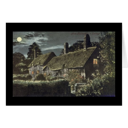 Notecard - Shottery - Anne Hathaway's Cottage