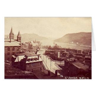 Notecard - St John's, Newfoundland, 1910